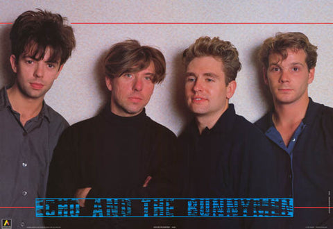 Echo and The Bunnymen Band Poster
