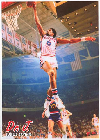 Julius Erving Dr J Basketball Poster