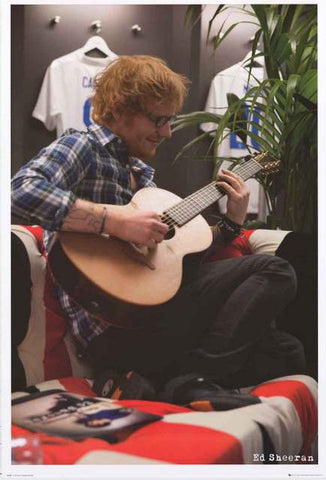 Ed Sheeran Portrait Poster