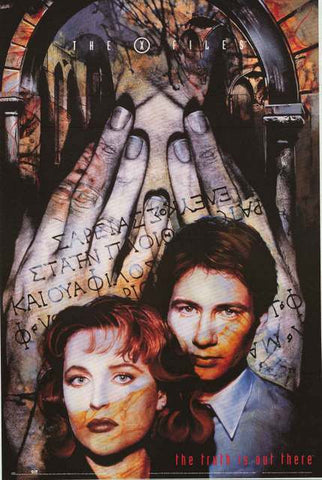 X-Files TV Show Poster