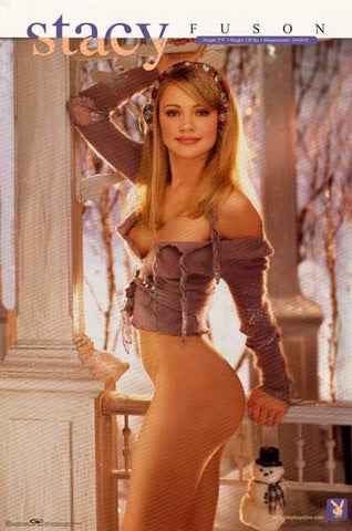 Playboy Playmate Stacy Fuson Poster