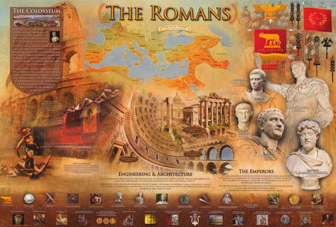 The Ancient Romans Poster