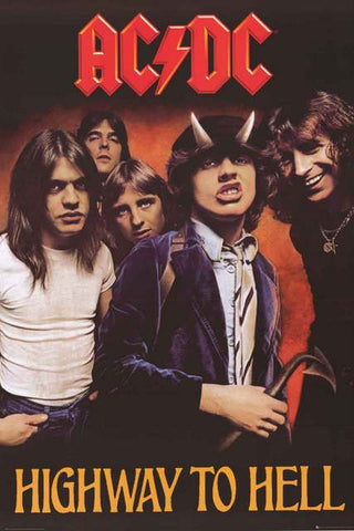 AC/DC Band Poster