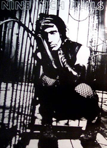 NINE INCH NAILS TRENT CROUCHING closer to 23x33 POSTER