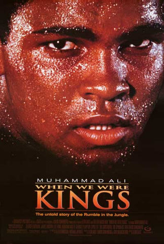 Muhammad Ali When We Were Kings Poster