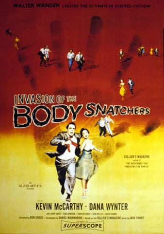 INVASION OF THE BODY SNATCHERS 24x34 POSTER