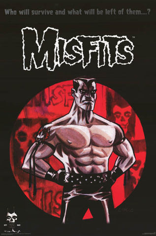 The Misfits Band Poster