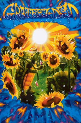 Grateful Dead Terrapin Sunflower 24x36 Poster