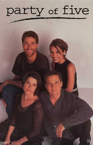 PARTY OF FIVE CAST SCOTT WOLF MATTHEW FOX 22x34 POSTER
