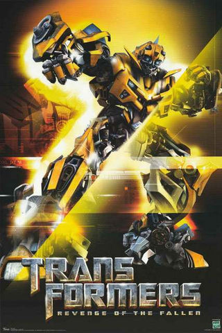 Transformers Revenge of the Fallen Bumblebee Portrait 2008 Movie Poster 22x34
