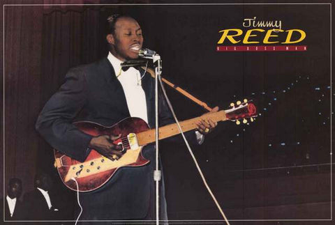 Jimmy Reed Big Boss Man Poster