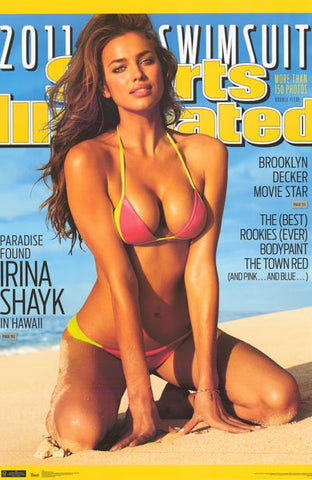 Irina Shayk Sports Illustrated Swimsuit 22x34 Poster
