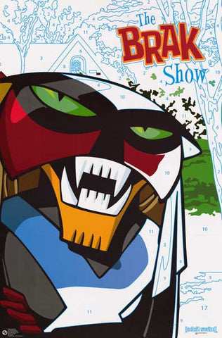 The Brak Show Cartoon Poster
