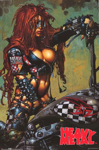 Heavy Metal Magazine Poster