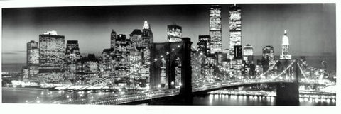 New York Manhattan Skyline Poster