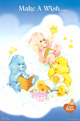 Care Bears Make A Wish 2003 Poster 23x35