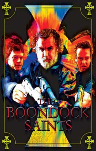 Boondock Saints Guns Trio 23x35 Blacklight Poster