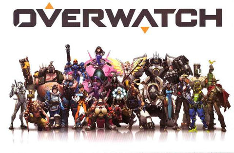 Overwatch Video Game Poster