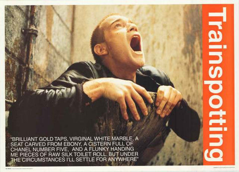 Trainspotting Movie Quote Poster