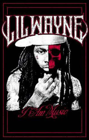 Lil Wayne Blacklight Poster