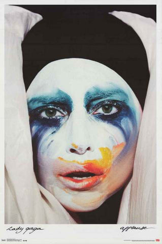 Lady Gaga Applause Poster