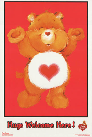 Care Bears Hugs Welcome Poster