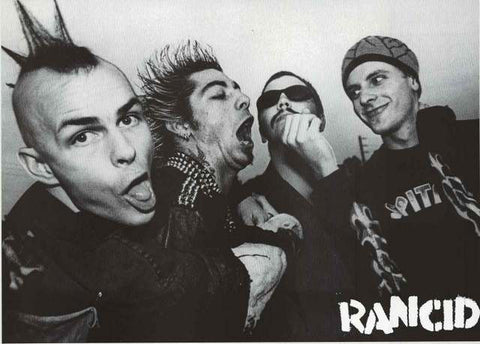 Rancid Band Poster