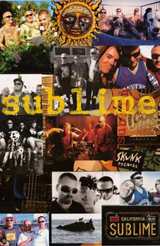 Sublime Let the Lovin' Take Hold 24x36 Poster
