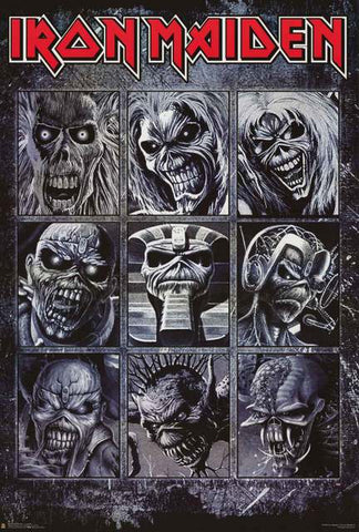 Iron Maiden Band Poster
