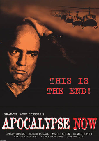 APOCALYPSE NOW THIS IS THE END 23x33 POSTER