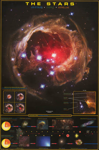 The Stars Education Poster