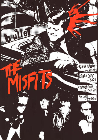 The Misfits Bullet Album Cover Poster 24x33
