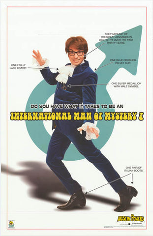 Austin Powers 2002 Movie Poster