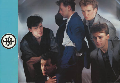 Simple Minds Band Poster