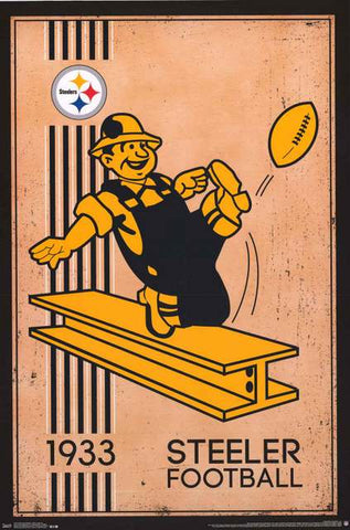 Pittsburgh Steelers NFL Football Poster