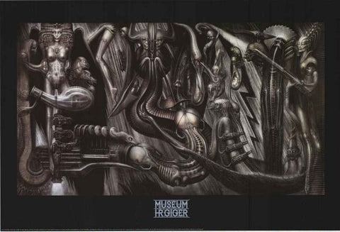 HR Giger Anima Mia Poster