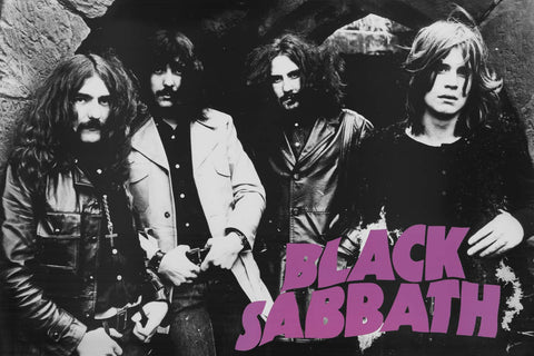 Black Sabbath Band Poster 24x36