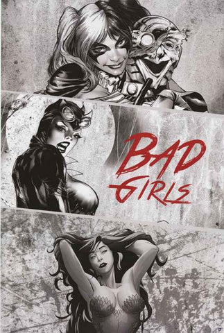 DC Comics Bad Girls Poster