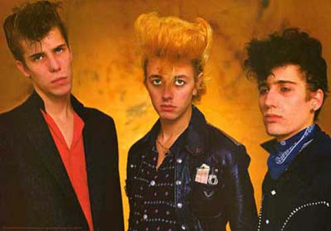 Stray Cats Setzer Group Portrait Orig 80's 27x38 Poster