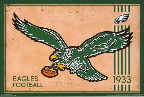 Philadelphia Eagles NFL Football Poster
