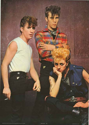 Stray Cats Band Poster