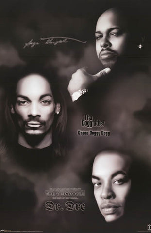 Death Row Records Suge Snoop Dre Collage Music Poster 22x34