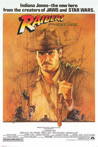 Indiana Jones Raiders of the Lost Ark Poster