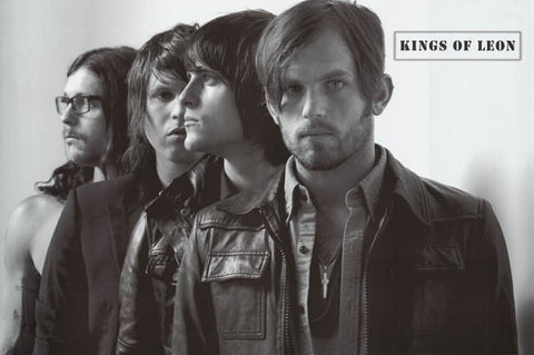 Kings of Leon Family Tree Followill Brothers Band Shot Music Poster 24x36