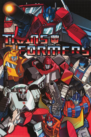 Transformers Classic Autobots Poster
