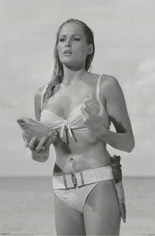 Ursula Andress Dr No Poster