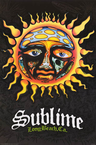 Sublime Sun Logo Band Art Music Poster 24x36