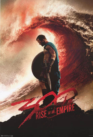 300 Rise of an Empire Movie Poster