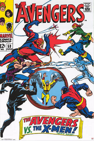 Avengers vs X-Men Marvel Comics Poster