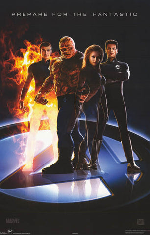 Fantastic Four Marvel Comics Movie Poster